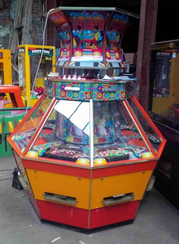 car wash coin machine