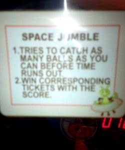 jumble ticket